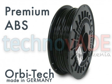 Filament 3D - Premium ABS 3.00 mm - Orbi-Tech - 750g - czarny