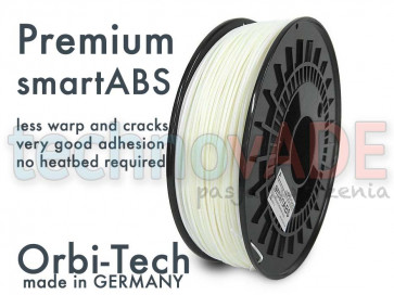 Filament 3D - Premium smartABS 1.75 mm - Orbi-Tech - 750g - naturalny