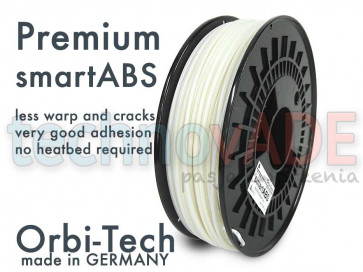 Filament 3D - Premium smartABS 3.00 mm - Orbi-Tech - 750g - naturalny