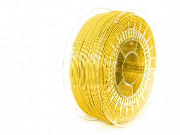 Filament 3D - PET-G 1.75 mm - 1 kg - DevilDesign - Żółty