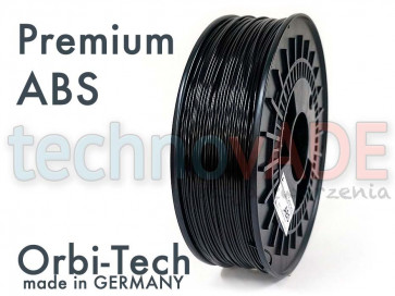Filament 3D - Premium ABS 1.75 mm - Orbi-Tech - 750g - czarny