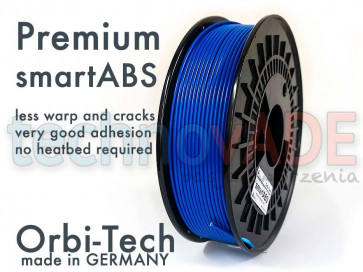 Filament 3D - Premium smartABS 3.00 mm - Orbi-Tech - 750g - niebieski