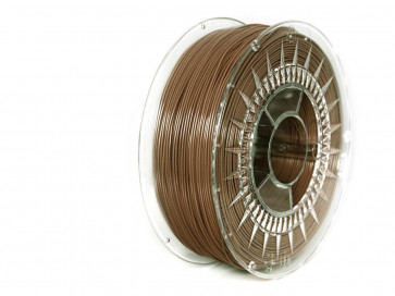 Filament 3D - PET-G 1.75 mm - 1 kg - DevilDesign - Brązowy