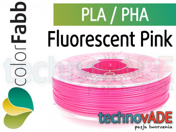 colorFabb Fluorescent Pink 1,75 mm PLA PHA 750g
