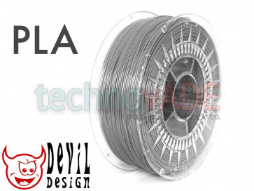Filament 3D - PLA 1.75 mm - 1 kg - DevilDesign - szary