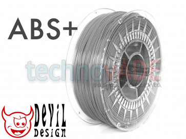 Filament 3D - ABS+ 1.75 mm - 1 kg - DevilDesign - szary