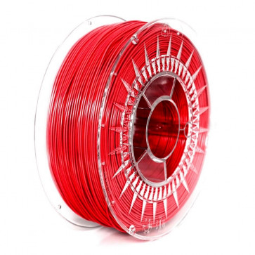 Filament 3D - PET-G 1.75 mm - 1 kg - DevilDesign - Czerwony