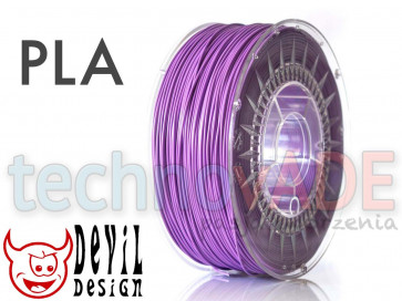 Filament 3D - PLA 1.75 mm - 1 kg - DevilDesign - fioletowy