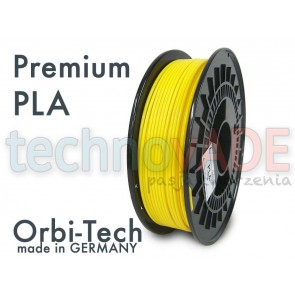 Filament 3D - Premium PLA 3.00 mm - Orbi-Tech - 750g - żółty