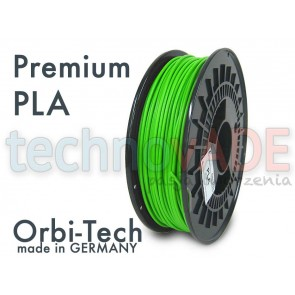 Filament 3D - Premium PLA 3.00 mm - Orbi-Tech - 750g - zielony