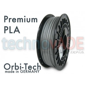 Filament 3D - Premium PLA 3.00 mm - Orbi-Tech - 750g - srebrny