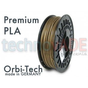 Filament 3D - Premium PLA 3.00 mm - Orbi-Tech - 750g - złoty