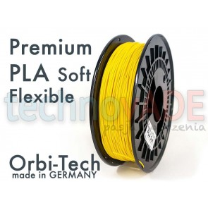 Filament 3D - Premium PLA Soft 1.75 mm - Orbi-Tech - 750g - żółty