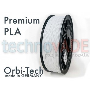 Filament 3D - Premium PLA 1.75 mm - Orbi-Tech - 750g - biały