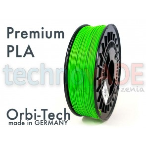 Filament 3D - Premium PLA 1.75 mm - Orbi-Tech - 750g - zielony