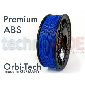 Filament 3D - Premium ABS 1.75 mm - Orbi-Tech - 750g - niebieski