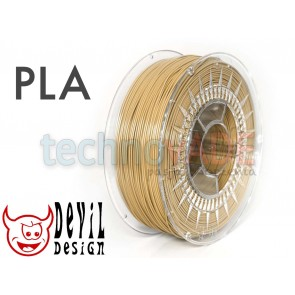 Filament 3D - PLA 1.75 mm - 1 kg - DevilDesign - beżowy