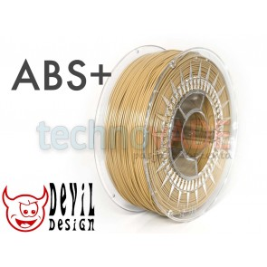 Filament 3D - ABS+ 1.75 mm - 1 kg - DevilDesign - beżowy
