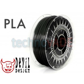 Filament 3D - PLA 1.75 mm - 1 kg - DevilDesign - czarny