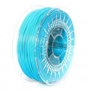 Filament 3D - PET-G 1.75 mm - 1 kg - DevilDesign - Błękitny