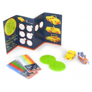 3Doodler Start - Doodle Block Kit Vehicle Set - Szablony Pojazdy