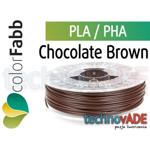 colorFabb Chocolate Brown 2,85 mm PLA PHA 750g