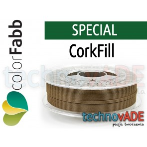 colorFabb CorkFill 1,75 mm 750g KOREK