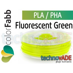 colorFabb Fluorescent Green 1,75 mm PLA PHA 750g