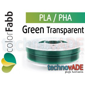colorFabb Green Transparent 1,75 mm PLA PHA 750g