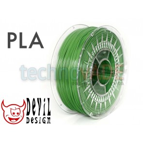 Filament 3D - PLA 1.75 mm - 1 kg - DevilDesign - zielony
