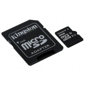 Karta pamięci Kingston micro SD / SDHC 8GB 320x UHS 1 klasa 10 z adapterem