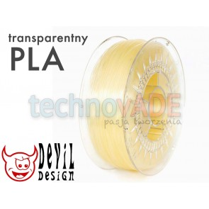 Filament 3D - PLA 1.75 mm - 1 kg - DevilDesign - naturalny