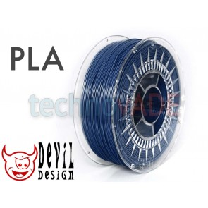 Filament 3D - PLA 1.75 mm - 1 kg - DevilDesign - granatowy