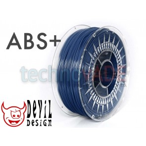 Filament 3D - ABS+ 1.75 mm - 1 kg - DevilDesign - granatowy