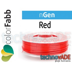 colorFabb nGen Red 2,85 mm 750g
