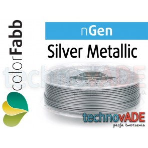 colorFabb nGen Silver Metallic 1,75 mm 750g