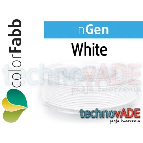 colorFabb nGen White 1,75 mm 750g