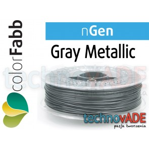 colorFabb nGen Gray Metallic 1,75 mm 750g