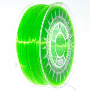 Filament 3D - PET-G 1.75 mm - 1 kg - DevilDesign - Jasny zielony transparentny