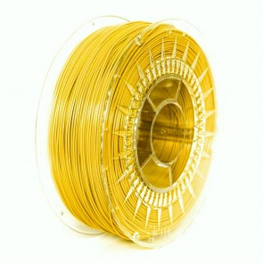 Filament 3D - PET-G 1.75 mm - 1 kg - DevilDesign - Jasny żółty
