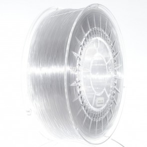 Filament 3D - PET-G 1.75 mm - 1 kg - DevilDesign - Transparentny