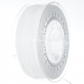 Filament 3D - PET-G 1.75 mm - 1 kg - DevilDesign - Biały