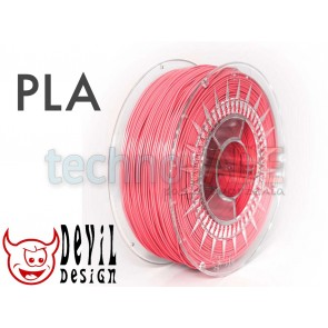 Filament 3D - PLA 1.75 mm - 1 kg - DevilDesign - różowy