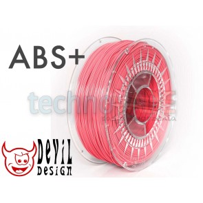 Filament 3D - ABS+ 1.75 mm - 1 kg - DevilDesign - różowy
