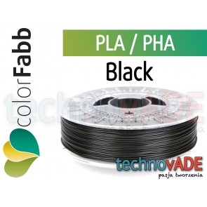 colorFabb Standard Black 1,75 mm PLA PHA 750g