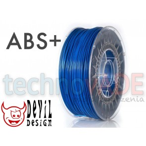 Filament 3D - ABS+ 1.75 mm - 1 kg - DevilDesign - super niebieski