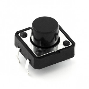 Tact Switch 12x12, 6mm THT - 5szt.