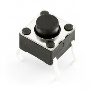 Tact Switch 6x6, 7mm THT - 5szt.