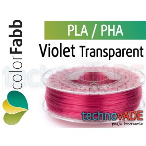 colorFabb Violet Transparent 1,75 mm PLA PHA 750g