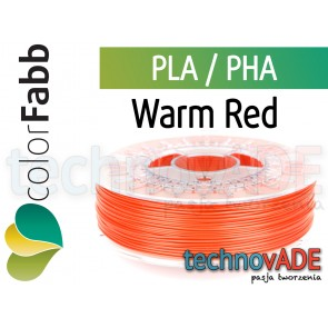 colorFabb Warm Red 1,75 mm PLA PHA 750g